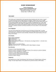 Sponsorship Proposal Letter Template - Image Result for Sponsorship Proposal Template Financetemplate