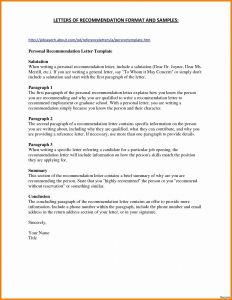 Standard Business Letter format Template - Business Letter format Template Word Best Business Letter format