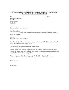 Standard Business Letter format Template - Authorization Letter Template Best Car Galleryformal Letter
