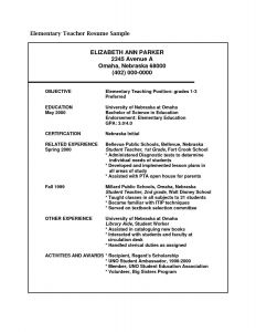 Student Teacher Introduction Letter to Parents Template - Elementary Education Resume Sample New Teaching Cover Letter