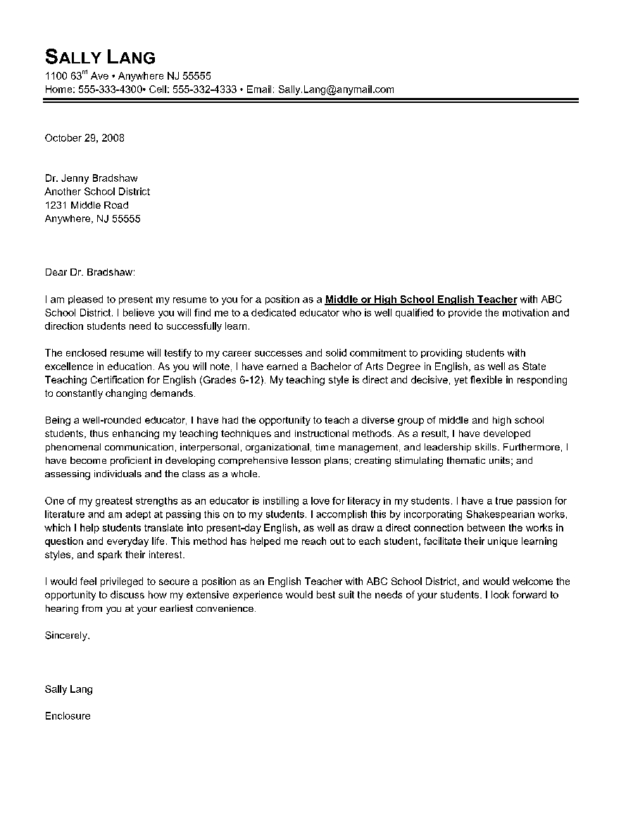 student teacher introduction letter to parents template Collection-High school student cover letter sample writing tips resume Letter of Introduction for a Teacher Canadian Resume Writing Service 8-o