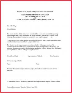 Subcontractor Letter Of Intent Template - Letter Intent Contract New Subcontractor Letter Intent