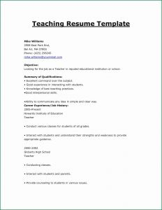 Sunday School Letter to Parents Template - Cover Letters for Teachers Beautiful Sunday School Teacher Resume