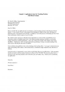 Take Your Child to Work Day Letter for School Template - Application Letter format How Write Job Sample for Headteacher