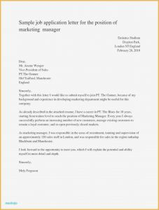 Teaching Cover Letter Template - Sample Cover Letter Teaching