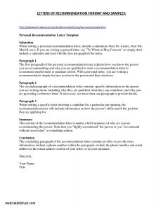 Teaching Letter Of Recommendation Template - Teacher Letter Re Mendation Template Fresh Sample Job Re