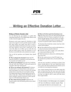 Template for Donation Request Letter for Non Profit - Letter asking for Donations Donation Request Letter Template