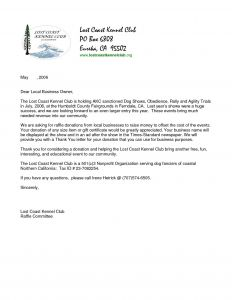 Template for Donation Request Letter for Non Profit - Sample Letter Donation Request Non Profit