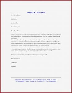 Template for formal Letter - formal Cover Letter format