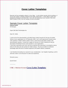 Template for formal Letter - 40 formal Letter format Example Free Resume Template