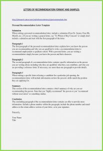 Template for Letter Of Recommendation for Graduate School - 30 Letter Re Mendation for Graduate School Gallery