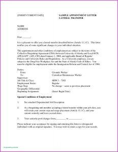 Template for Offer Letter - Fer Letter Template Google Docs Examples
