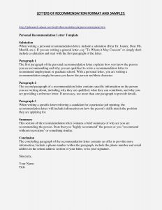 Template Of Letter Of Recommendation - Fresh Letter Re Mendation for Graduate School Template