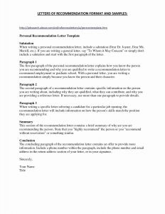 Tenant Recommendation Letter Template - General Letter Re Mendation Template Inspirational Notice