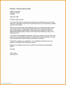 Tenant Recommendation Letter Template - Customer Reference Letter Template Download