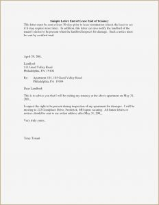 Tenant Recommendation Letter Template - Tenant Re Mendation Letter Unique Sample Letter to Tenant to Pay