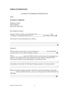 Termination Letter Template - Termination Letter Template top Rated Example Termination Letter to