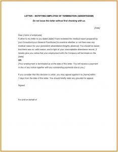 Termination Of Employment Letter Template - Letter Termination Employment Singapore New 3 4 Notice