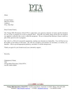 Thank You Donation Letter Template - Donor Acknowledgement Letter Template Examples