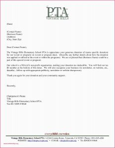 Thank You Letter Template Donation - Sample Sponsorship Letter for events Church Thank You Letter for