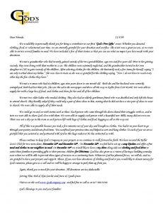 Thank You Letter Template Donation - In Kind Donation Letter Template Free Creative Sample In Kind