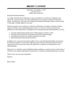 Thank You Letter Template for Elementary Students - Leading Professional Director Cover Letter Examples & Resources