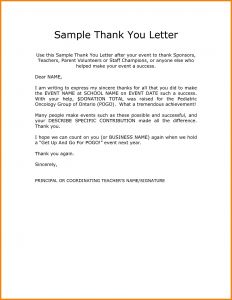 Thank You Letter Template for Elementary Students - 50 New Scholarship Thank You Letter Sample