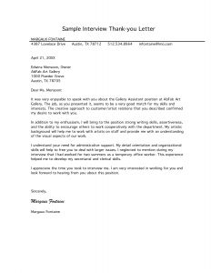 Thank You Letter Template for Kids - Sample Thank You Interview Email Google Search