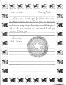 Thank You Letter Template for Kids - Veterans Day Letter Template New Modern Veterans Day Thank You