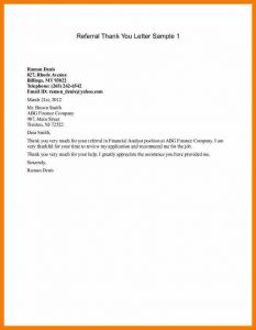 Thank You Letter to Referring Physician Template - 14 15 Referral Letter to Specialist Example