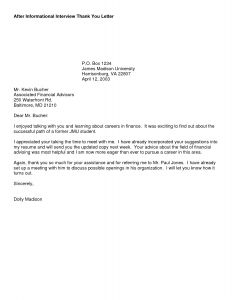 Thank You Letter to Referring Physician Template - Interview Thank You Letter Template Samples