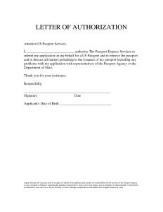 Third Party Authorization Letter Template - Bank Account Authorization Letter Sample format for Cheque Book