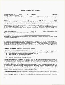 Time Of the Essence Template Letter - Letter Intent Real Estate Lease Mercial
