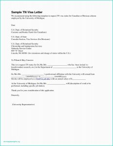 Tn Visa Letter Template - Tn Visa Cover Letter Resume Cv or Cover Letter – All Resume