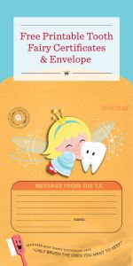 Tooth Fairy Letter Template Boy - Special Delivery From the tooth Fairy Printable tooth Fairy