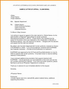 Unemployment Denial Appeal Letter Template - Appeal Letter Template for Short Term Disability Inspirationa form