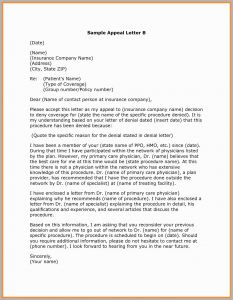 Unemployment Denial Appeal Letter Template - 57 Amazing Models How to Write An Appeal Letter to Insurance