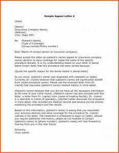 Unemployment Denial Appeal Letter Template - 50 Beautiful Appeal Letter Template