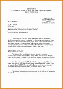 Unemployment Denial Appeal Letter Template - 50 Inspirational How to Write An Appeal Letter for Disability