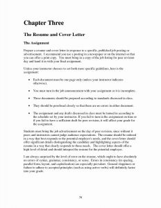 Unique Cover Letter Template - Cover Letter Examples for Internship Unique Employment Letter