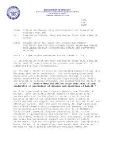 Usmc Letter Of Appreciation Template - Naval Letter format Template Samples