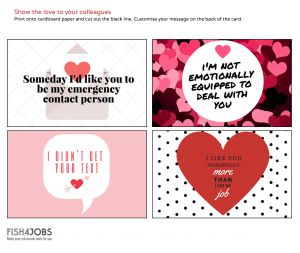 Valentines Day Letter Template - Valentine S Cards for Your Work Crush Career Advice & Expert