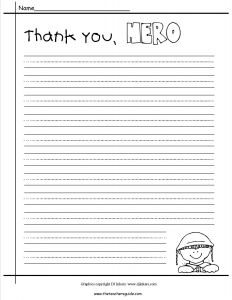 Veterans Day Thank You Letter Template - Veterans Day Letter Template Collection