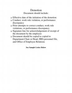 Voluntary Demotion Letter Template - Voluntary Demotion Letter Sample Fresh Download now Copy Voluntary