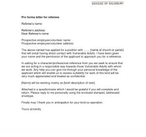 Volunteer Letter Of Recommendation Template - Work Reference Letter Example Fius
