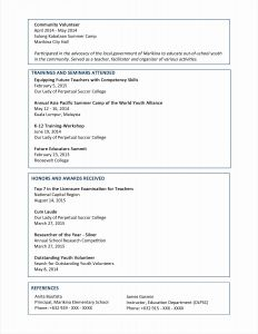 Volunteer Letter Template - Template for Munity Service Hours Letter Sample