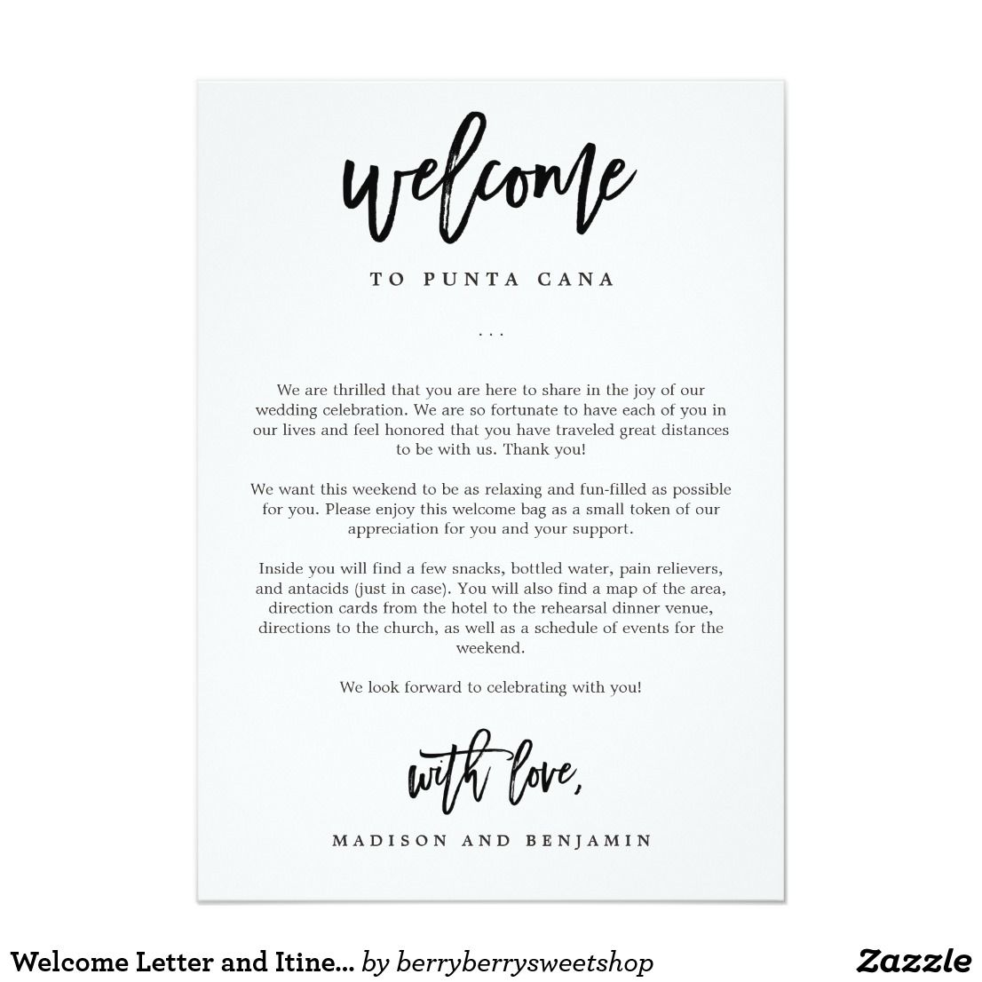 Hotel Welcome Letter Templates