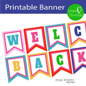 Welcome Back to School Letter Template - Free Printables Wel E Back Banner Edukacja