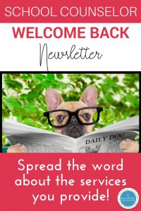 Welcome Back to School Letter Template - Open House Wel E Back Letter From the School Counselor •
