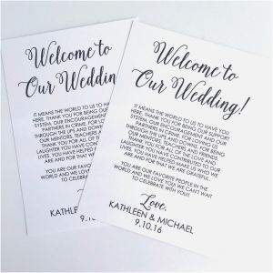 Welcome Bag Letter Template - Wedding Wel E Bag Letter Template Collection